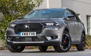 DS 7 Crossback Performance Line 2018 года (UK)